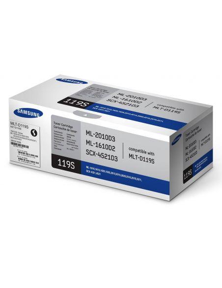 Tóner Samsung 119S Negro (2000 Pag) para ML1610 y mas
