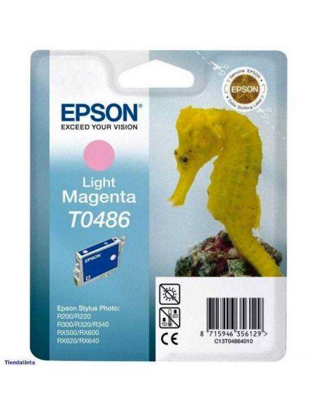 Tinta Epson T0486 Magenta Claro C13T048640