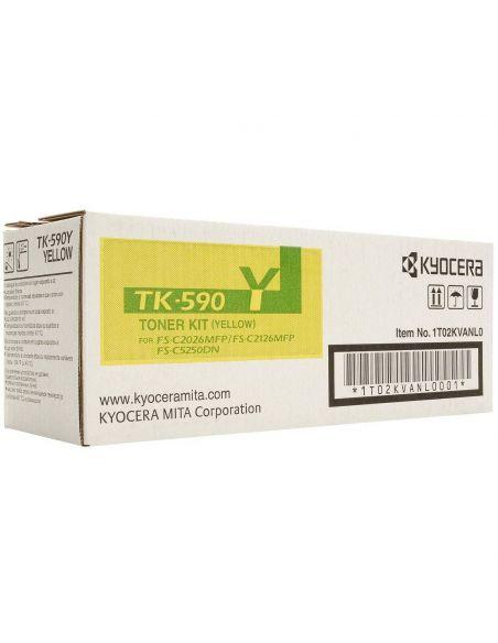 Tóner Kyocera TK-590Y Amarillo 1T02KVANL0 para M6026 6526