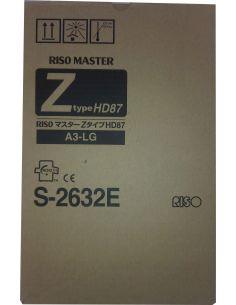 Master Riso S-2632 320mmx180m (4,4ø interior) (A3)(2 rollos)(Z-Type HD87)