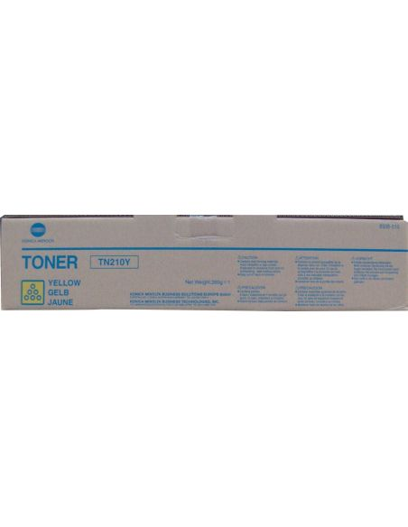 Tóner Konica Minolta TN210Y Amarillo 8938510 para Bizhub C250 C252