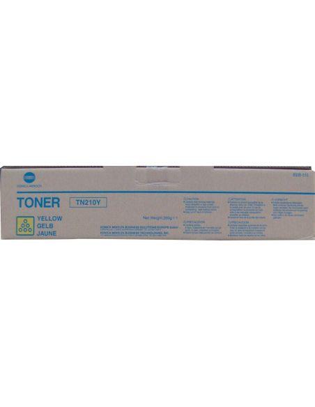 Tóner Konica Minolta TN210Y Amarillo 8938510 (12000 Pag) para Bizhub C250 C252