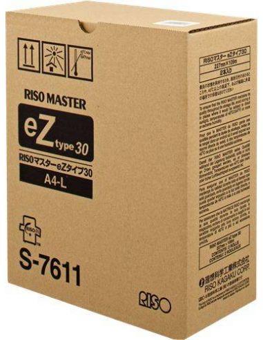 Master Riso S-7611 A4-L (2 rollos)(EZ- 30) Original