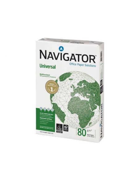 Papel A4 Multifuncion Navigator 500h. 80g/m² Universal