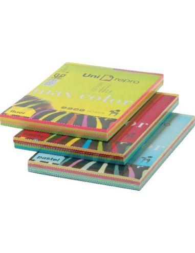 Papel A4 surtido colores 200h. 80g/m² (4 colores)