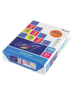 Papel A4 multifuncion 500h. 100g/m² para láser color CCA4100
