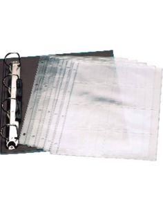 Fundas A4 para tarjetas 87x69mm (10 unid)  448N1