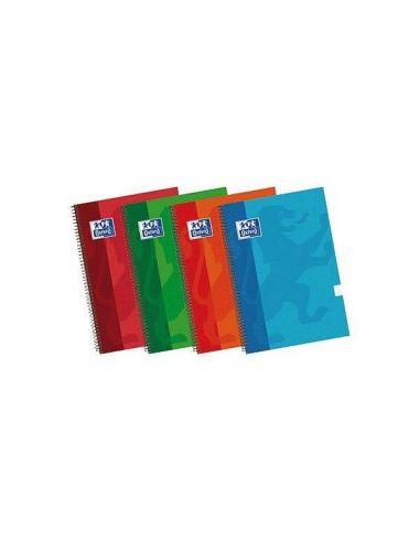 Cuaderno School 80h. Folio Doble linea extradura 40043992