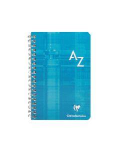 Indice alfabético Azul 50h. 75x120 90Gr 8589C