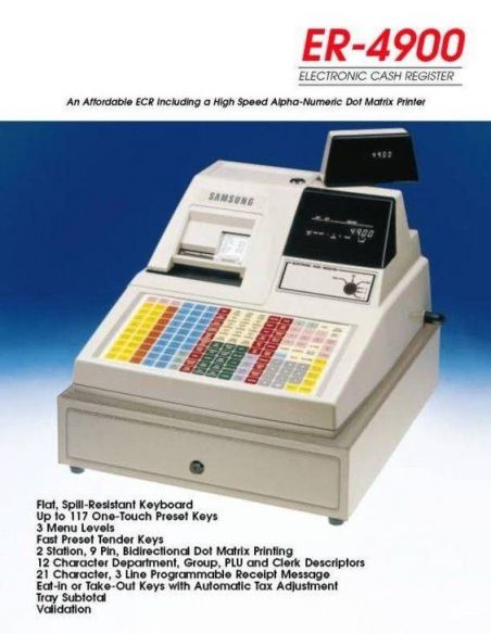 Samsung ER4900