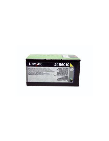 Tóner Lexmark 24B6010 Amarillo para XC2100 XC2130
