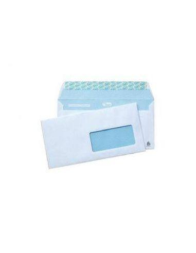 Sobres 115x225 blanco c/ventana derecha con cierre silicona (500 Unid)