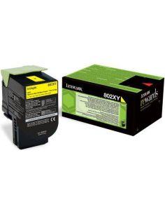 Toner Lexmark 802YX Amarillo 80C2XY0 (4000 Pag)