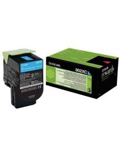 Toner Lexmark 802XC Cian 80C2XC0 (4000 Pag)