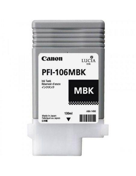 Tinta Canon 106MBK Matte Negro 6620B001 (130ml)
