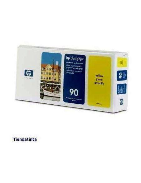 Cabezal y limpiador HP 90 Amarillo C5057A