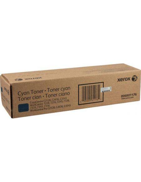 Tóner 006R01176 Xerox 7228 Cian para CopyCentre C2128 C2636