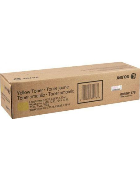 Tóner 006R01178 Xerox 7228 Amarillo para CopyCentre C2128 C2636