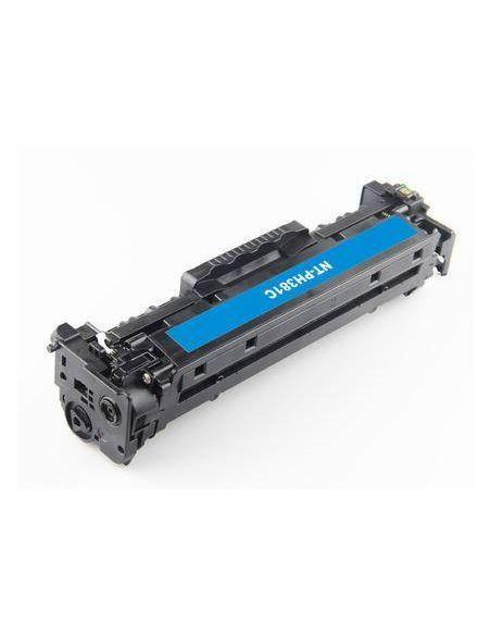 Tóner para HP 304A/305A/312A/718C Cian CF381A No original para LaserJet CP2025 M351 y mas