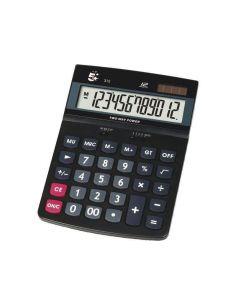 Calculadora 12 digitos sobremesa 312 Pantalla grande solar/pilas KC-DX150