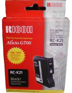 Tinta gel Ricoh RC-K21 Negro (2900 Pág)
