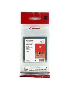 Tinta Canon PFI101R Rojo 0889B001 (130 ml) Original