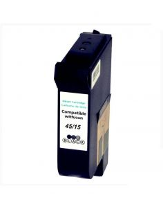 Tinta para HP Nº15/Nº45 Negro 51645 C6615DE (40ml)No original