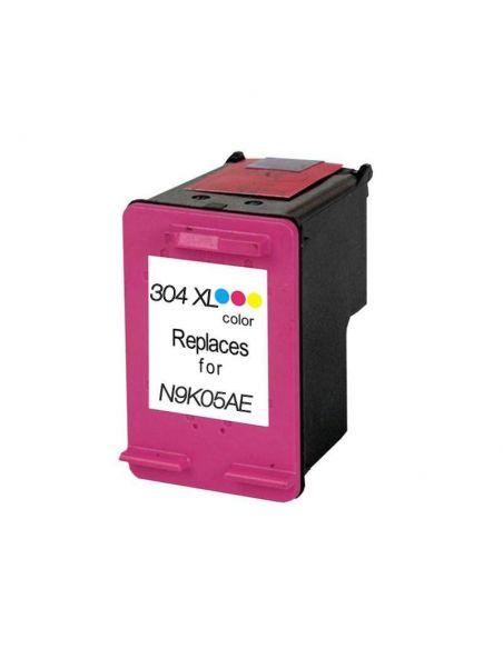 Tinta para HP 304XL Tricolor N9K05AE/N9K07AE (300 Pág) No original