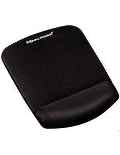 Reposamuñecas FELLOWES para ratón Foam Fusion PlushTouch negro 9252003