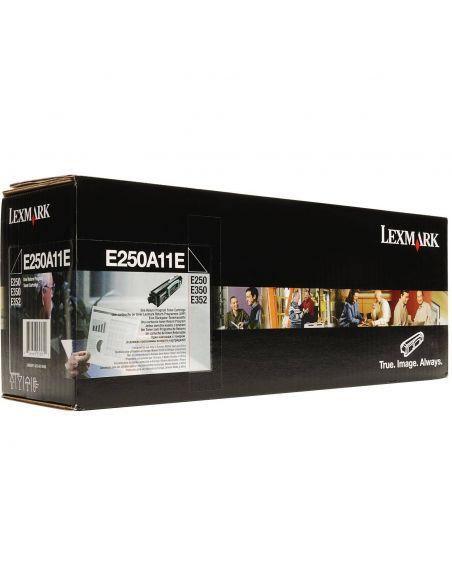 Tóner Lexmark E250A11E Negro para E350 E352