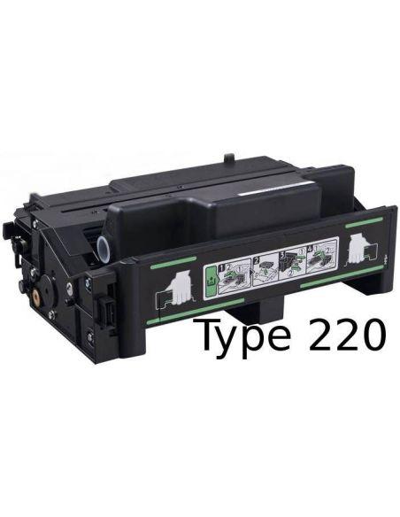 Tóner para Ricoh 407008 Negro Type 220A No original para Aficio SP4100 SP4210