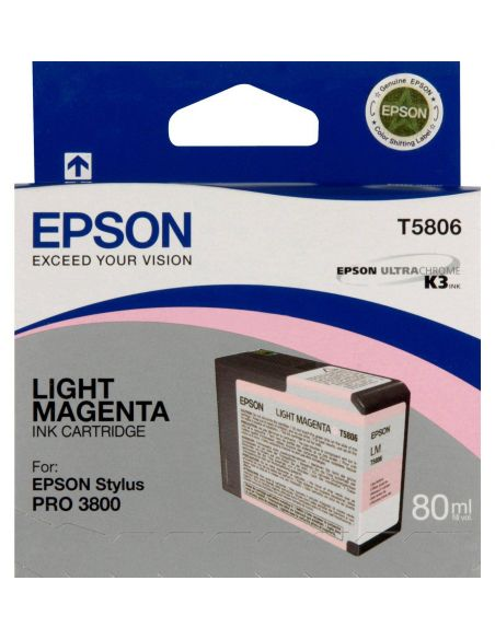 Tinta Epson T5806 Light Magenta (80ml)