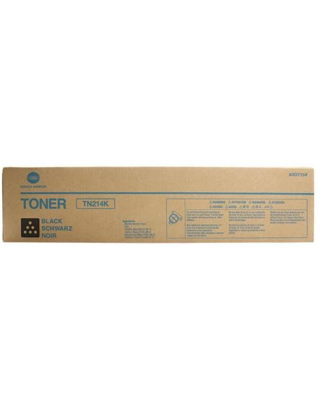 Tóner Konica Minolta TN214K Negro A0D7154 para Bizhub C200