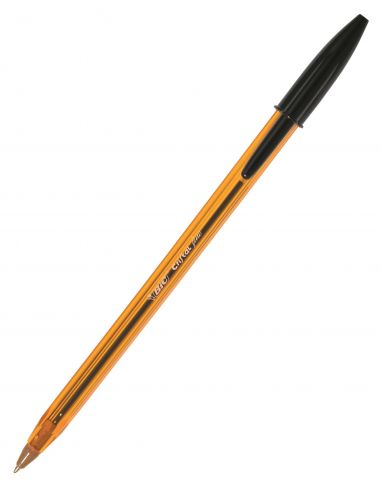 Bolígrafo BIC Cristal Fine Negro 0.3mm 872731