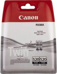 Tinta Pack Canon Negro 520BK (700 Pág)(2 Unid)