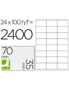 Etiquetas A4 70x35 Blancas (100 pag)