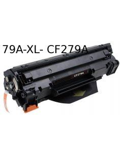 Tóner para HP 79XL Negro CF279A XL (2500 pág) No original