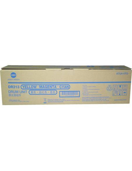 Tambor Konica Minolta DR313 Color A7U40TD (75000 pag)