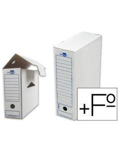 Archivador definitivo Definiclas Folio prolongado 388x275x116mm Blanco