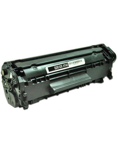 Tóner para HP 12A/FX10/FX9/703 Negro Q2612X (3500 Pag) No original para LaserJet 1010 1015 y mas