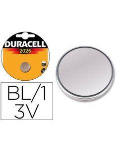 Pila duracell alcalina CR2025 3V (1 Unid)