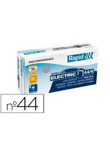 Grapas 44/6 Galvanizada Rapid (5000 unid) 24868100