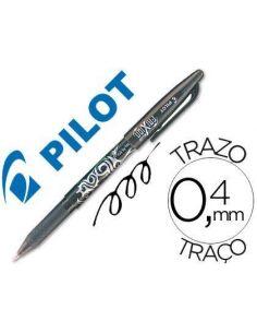 Bolígrafo Frixion Negro 0.4mm Pilot BL-FR7-N