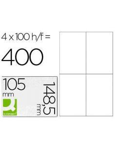 Etiquetas 105x148 A4 (100h. x 4 etiq)