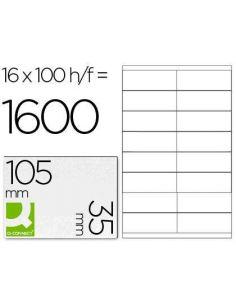 Etiquetas 105x35 A4 (100h. x 16 etiq)
