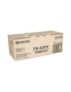 Tóner Kyocera TK-820Y Amarillo (7000 Pág)