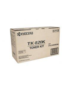 Tóner Kyocera TK-820K Negro (15000 Pág)