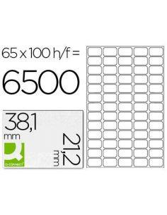 Etiquetas 38,1x21,2 rectas A4 (100H. x 65 etiq)