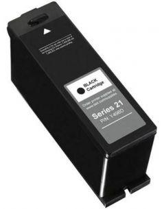 Tinta para Dell 592-11327 Negro Y498D/X739N/X737N (19 ml)