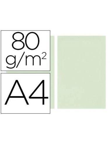 Papel A4 multifuncion color Verde claro 500h. 80g/m²